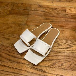 Nasty Gal White Sandal